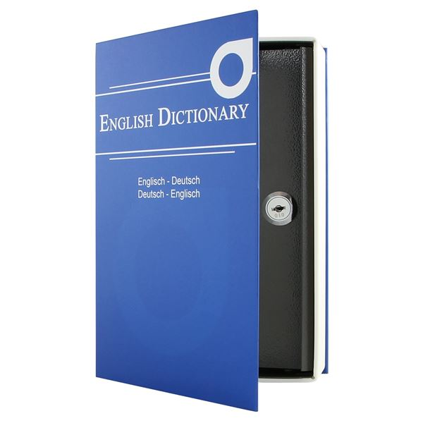 Buchtresor, Buchattrappe, Modell English Dictionary, 23,5 x 15,5 x 5,5 cm
