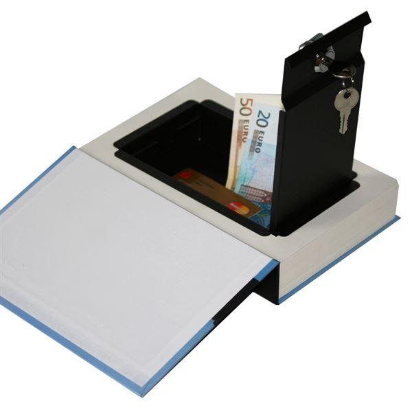 Buchtresor, Buchattrappe mit Papierseiten, Modell Brasilien, 23 x 15 x 4 cm