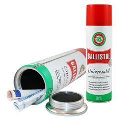 Geldversteck Dosentresor Safe Ballistol Universalöl, 23,7 x 6,3 cm