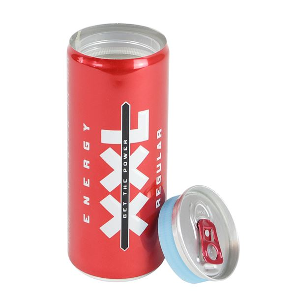 Geldversteck, Dosentresor Safe Energy XXL Regular Drink, 13 x 5 cm
