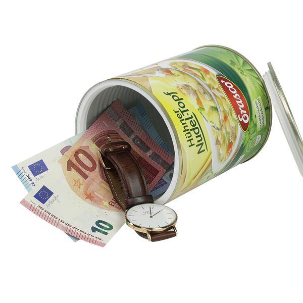 Geldversteck Dosentresor Safe Erasco Nudeltopf, 12 x 10 cm