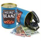 Geldversteck, Dosentresor Safe Heinz Beanz, 11 x 7,5 cm