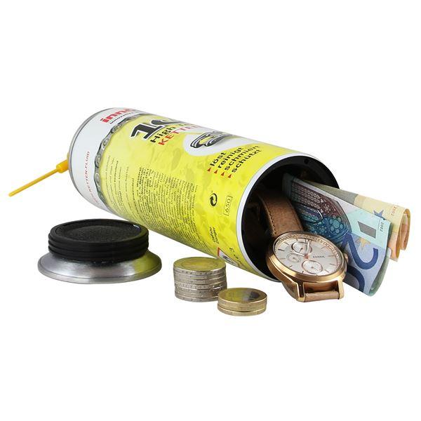 Geldversteck Dosentresor Safe Innotech Ketten-Fluid, 24 x 6,5 cm