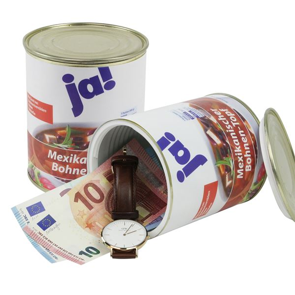Geldversteck Dosentresor Safe Ja! Mexikanischer Bohnen-Topf, 12 x 10 cm