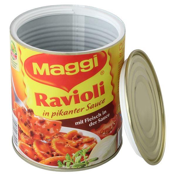 Geldversteck Dosentresor Safe Maggi Ravioli, 12 x 10 cm