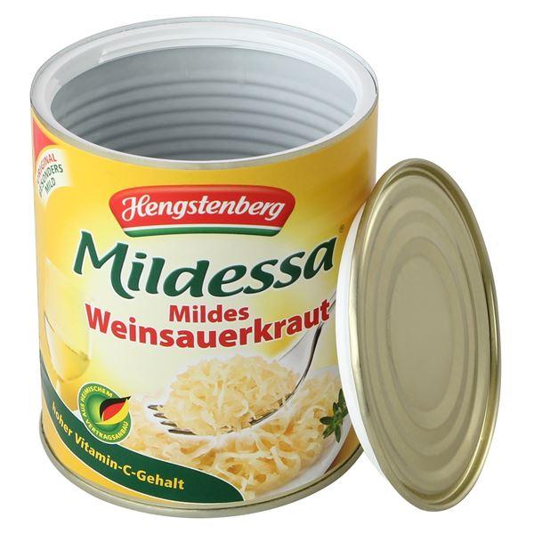 Geldversteck Dosentresor Safe Mildessa Sauerkraut, 12 x 10 cm