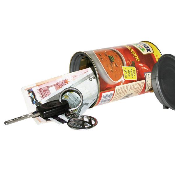Geldversteck Dosentresor Safe Unox Gulaschsuppe, 11 x 6,5 cm
