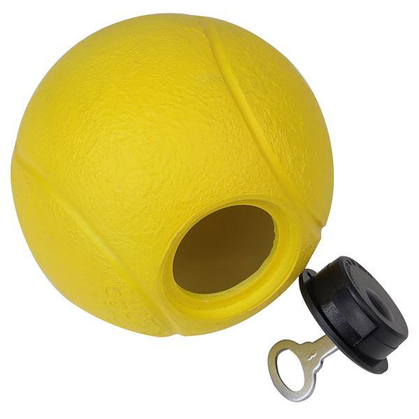 Spardose Tennisball, 10 cm